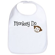 Monkey Do Bib