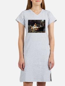 The Lady Of Shalott Women's Nightshirt
