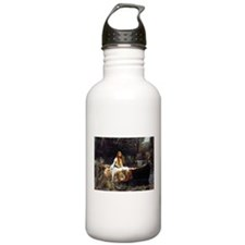 The Lady Of Shalott Water Bottle