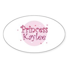 Kaylee Oval Stickers