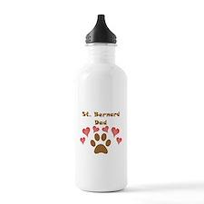 St. Bernard Dad Sports Water Bottle