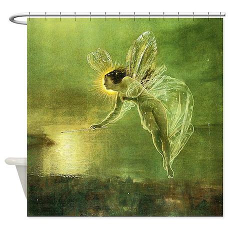 Spirit Of Night Fairy Shower Curtain