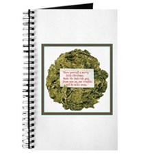 Journal-Marijuana Wreath
