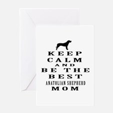 Keep Calm Anatolian Shepherd Designs Greeting Card