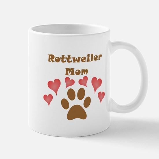 Rottweiler Mom Small Mug