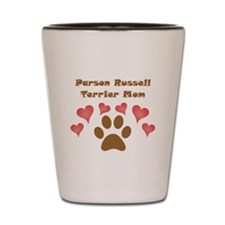 Parson Russell Terrier Mom Shot Glass