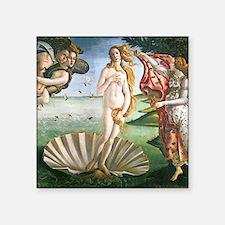 """The Birth Of Venus Square Sticker 3"""" x 3"""""""