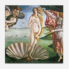 The Birth Of Venus Tile Coaster