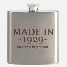 made in 1929 Flask