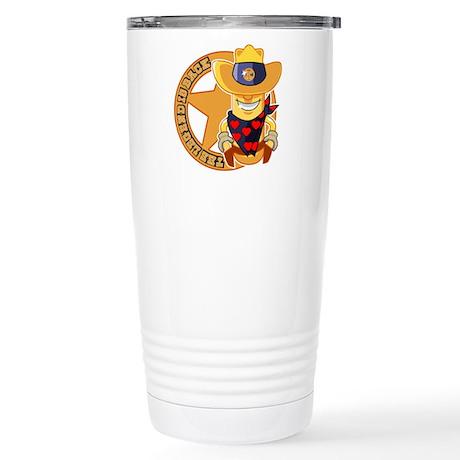 The Legend returns Travel Mug