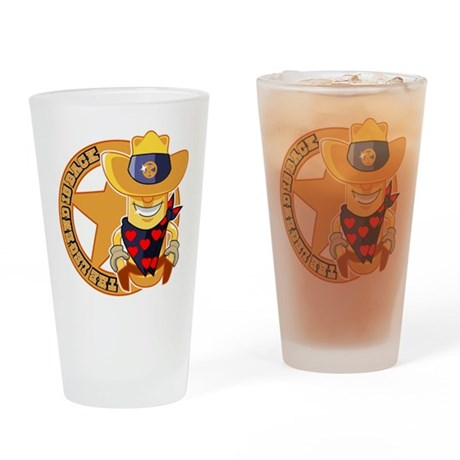 The Legend returns Drinking Glass
