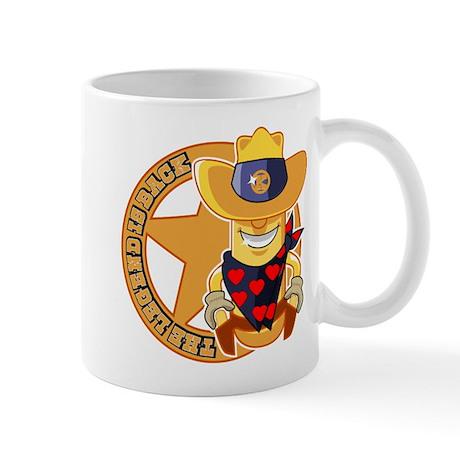 The Legend returns Mug