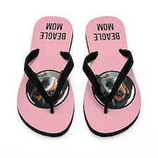 Beagle Mom Flip Flops