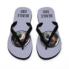 Beagle Dad Flip Flops
