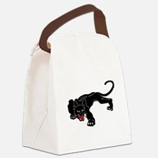 Panther Canvas Lunch Bag