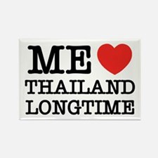 ME LOVE THAILAND LONGTIME Rectangle Magnet
