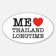 ME LOVE THAILAND LONGTIME Decal