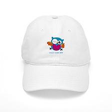 Editable Owl Print Cap