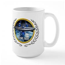 Star trek Federation of Planets Enterprise JJA2 Mu