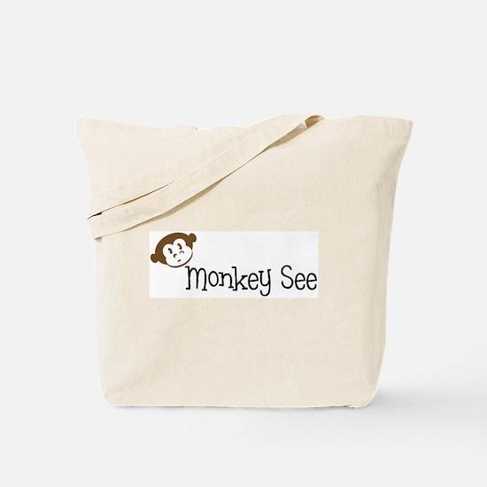Monkey Do Tote Bag