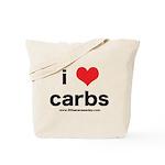 heartcarb30bad-1.png Tote Bag