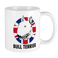 Bull Terrier English Flag Mug
