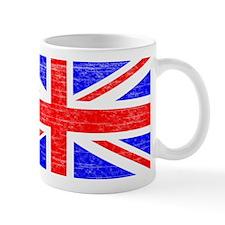 Aged British Flag Mug
