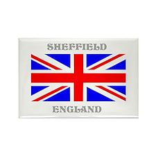 Sheffield England Rectangle Magnet
