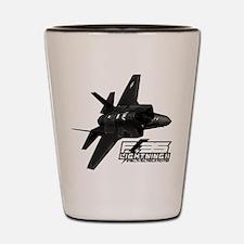 F-35 Lightning II Shot Glass