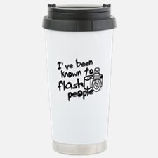 Flash People Stainless Steel Travel Mug