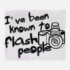 Flash People Throw Blanket