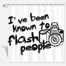 Flash People Shower Curtain