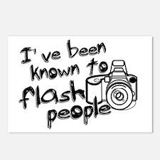 Flash People Postcards (Package of 8)