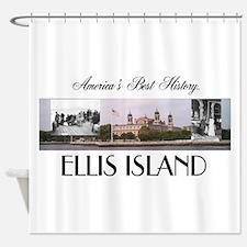 ABH Ellis Island Shower Curtain