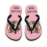 Bulldog flip flops Flip Flops