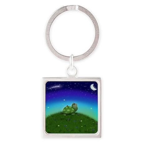 Turtle Moon and Stars (sb) Keychains