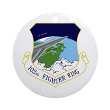 102nd FW Ornament (Round)