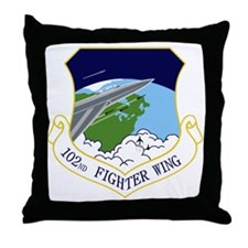 102nd FW Throw Pillow