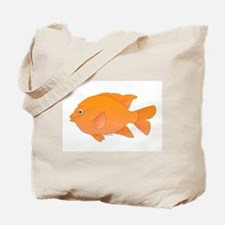 Garibaldi Damselfish fish Tote Bag