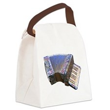 24 Bass Accordion Canvas Lunch Bag