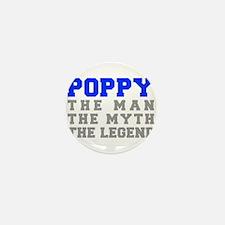 poppy-fresh-blue-gray Mini Button