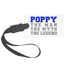 poppy-fresh-blue-gray Luggage Tag