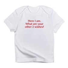 here-I-am-opt-red Infant T-Shirt