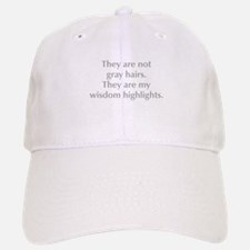 gray-hair-opt-gray Baseball Baseball Baseball Cap