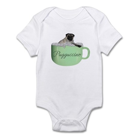 Pugguccino Infant Bodysuit