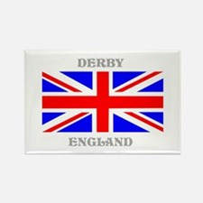 Derby England Rectangle Magnet