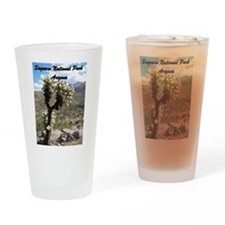 Saguaro National Park - Tucson, AZ Drinking Glass
