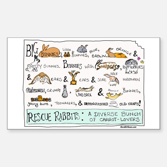 Rescue Rabbits Decal