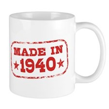 Made In 1940 Small Mug