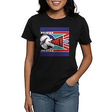 Russian Feminist Propaganda Ash Grey T-Shirt